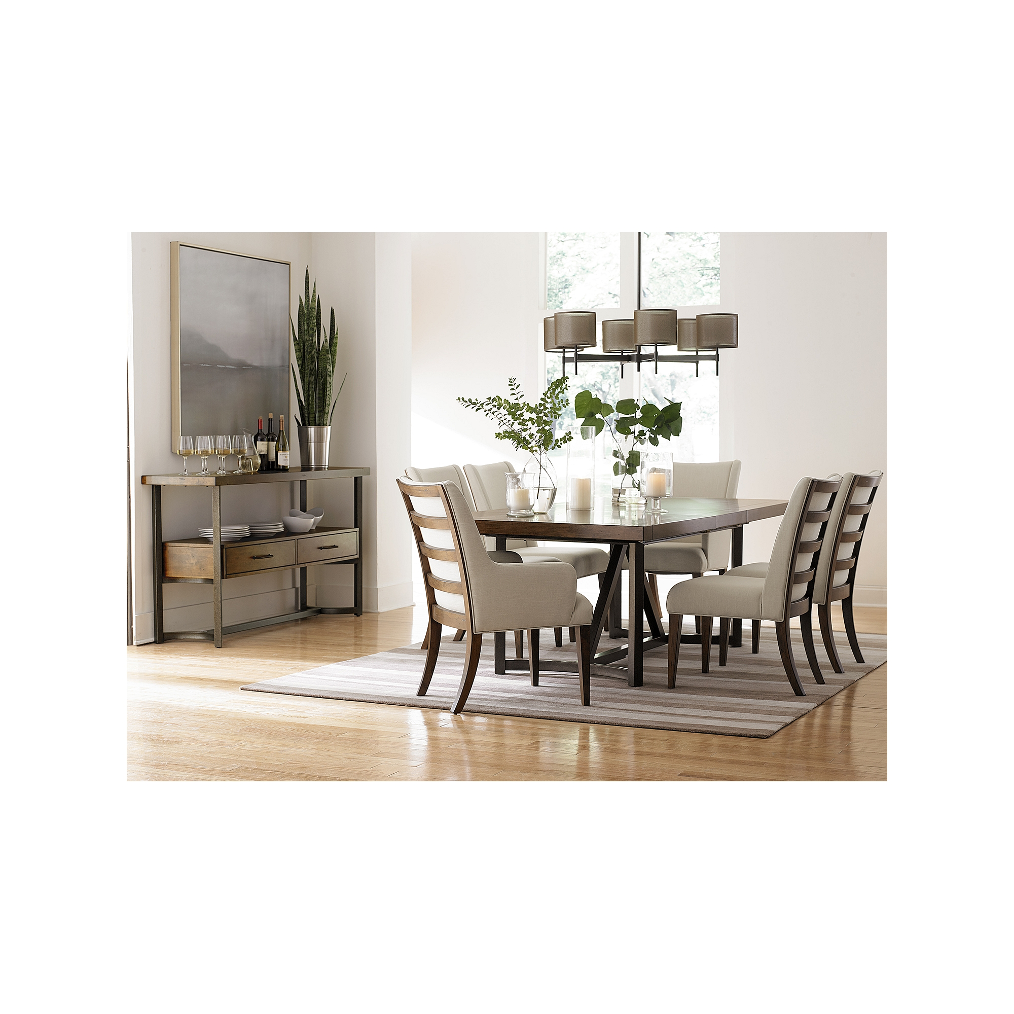 printers alley trestle table havertys kitchen tables