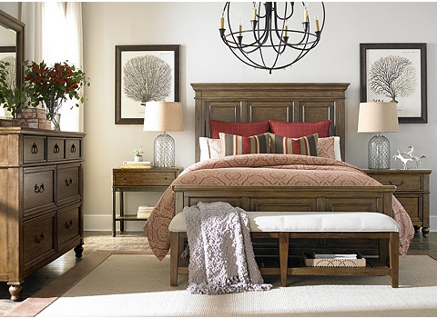Printers Alley Bed | Havertys