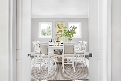 welcome home upholstered dining chair | havertys