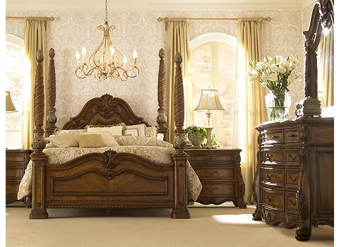 1 - Fruitwood Bedroom Furniture