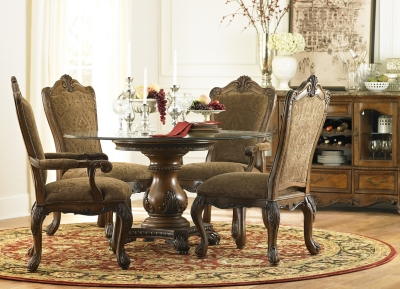 Alternate Villa Clare Upholstered Dining Chair Image