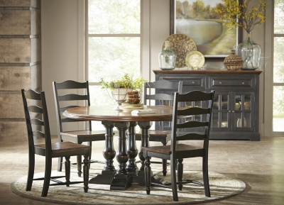 Alternate Logan Circle Round Dining Table Image