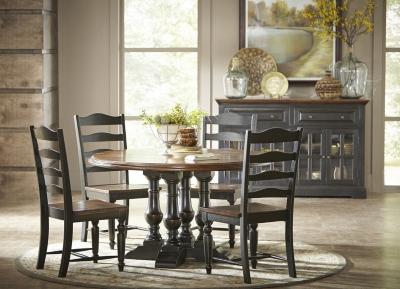 Alternate Logan Circle Round Dining Table Image