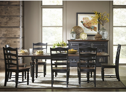 Logan Circle Dining Table Havertys