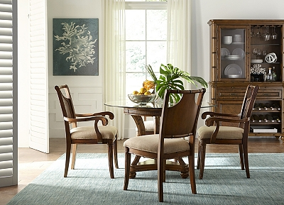 antigua dining chair havertys