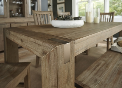 sherman dining table havertys