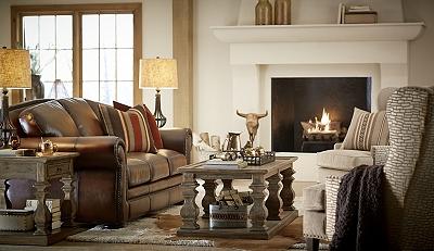 vintage autumn sofa | havertys