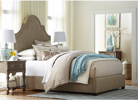 1. Upholstered Beds   Havertys