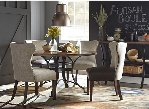 alternate copper canyon dining table image - Copper Kitchen Table