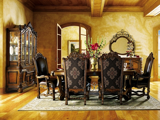 rustic grand victorian living room design | Grand Tuscan, | Havertys Furniture