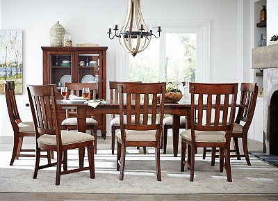 artisan valley dining table | havertys