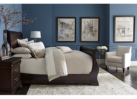 Orleans Grand Sleigh Bed | Havertys