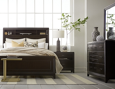 asher bed havertys