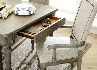 forest lane dining table | havertys