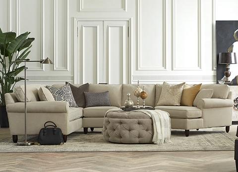 Havertys Amalfi Sectional Sofa