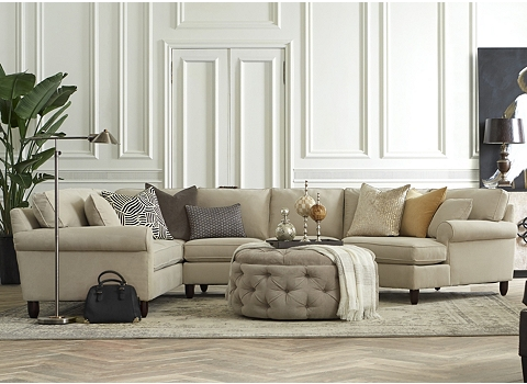 Alternate Amalfi Sectional Image - Amalfi Sectional Havertys