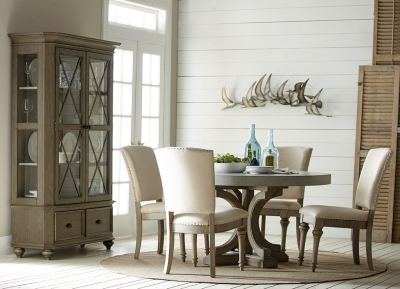 Alternate Lakeview Round Concrete Dining Table Image