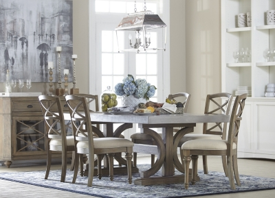 Alternate Lakeview Rectangular Concrete Dining Table Image