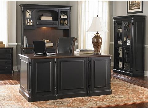 Alternate Westbury Desk with Hutch Image - Westbury Desk With Hutch Havertys