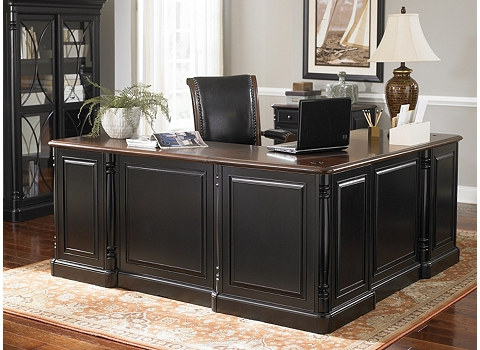 Westbury L Shaped Desk Havertys