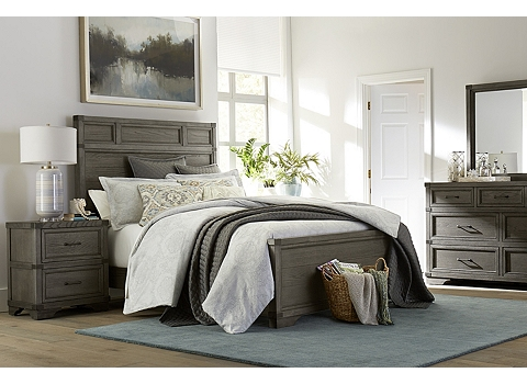Vickery creek bed havertys for Havertys bedroom furniture sets