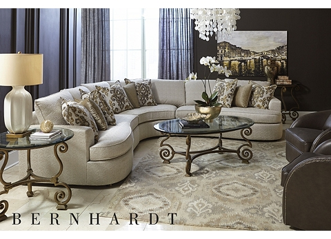 Sectionals havertys for Sectional sofa victoria