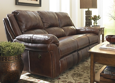 Living Room Furniture Havertys payton reclining sofa | havertys