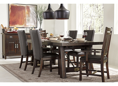 Arden Ridge Trestle Table Havertys