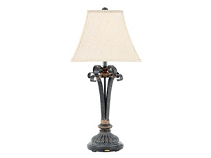 Hammered Scroll Table Lamp Havertys