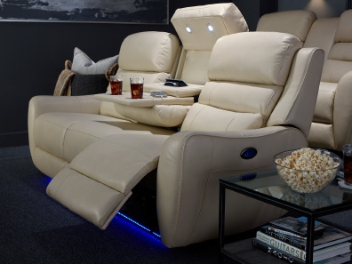 Charming Home Theater Seating