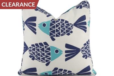 Go Fish Pillow