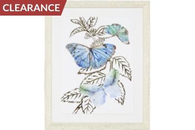 Mariposa Collage Framed Art III