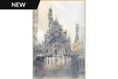 St Etienne du Mont, Paris Canvas