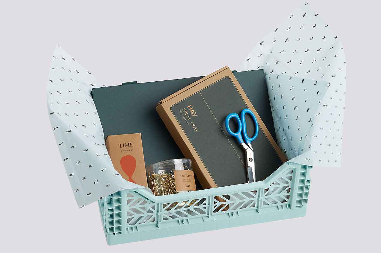 HAY Gift Crate – The Desk Essentials Crate