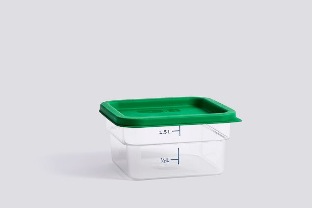 Colored Lid Container