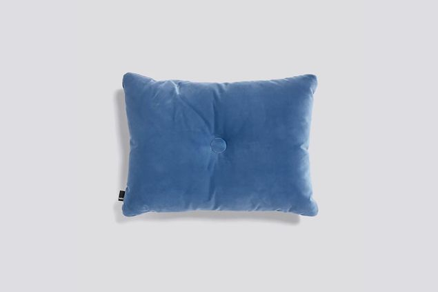 Dot Pillow in Velvet Fabric
