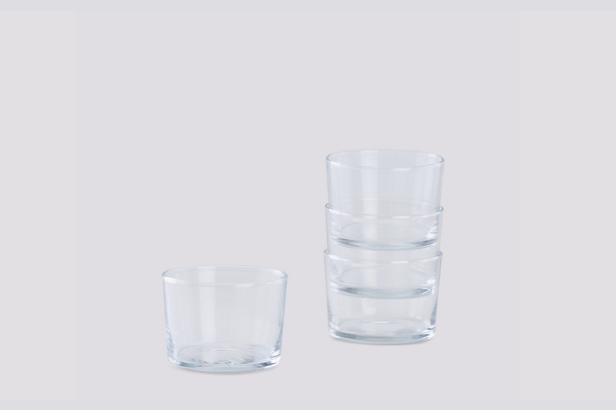 Glass, Set of 4