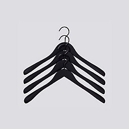 HAY Soft Coat Hanger, Set of 4