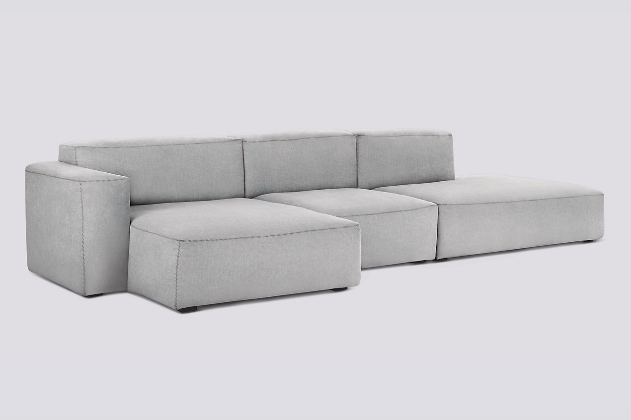 Mags Soft Low Wide Sectional with Chaise