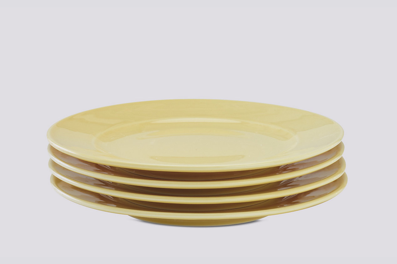 Rainbow Plate, Medium – Set of 4