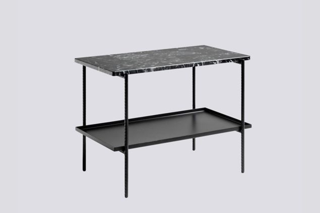 Rebar Side Table With Tray