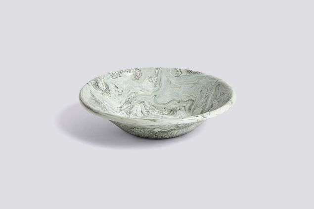 Soft Ice Shallow Bowl