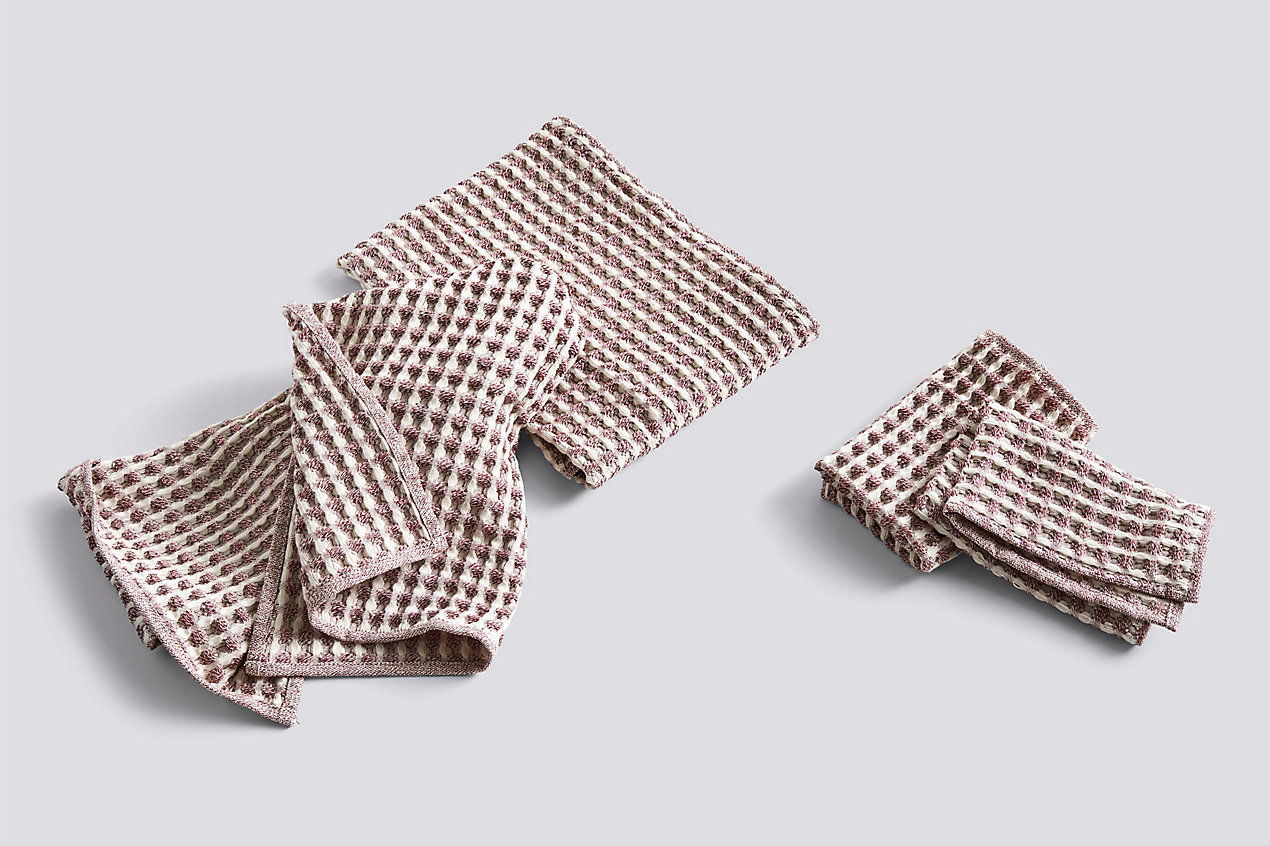 Twist Dish Cloth and Towel Set