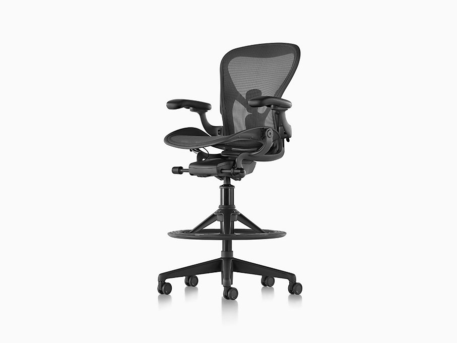 Aeron Stool Bar Height Herman Miller