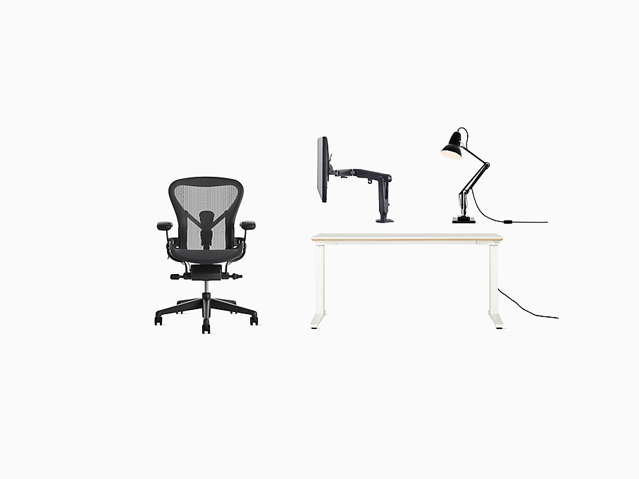 Full Ergonomic Office Bundle