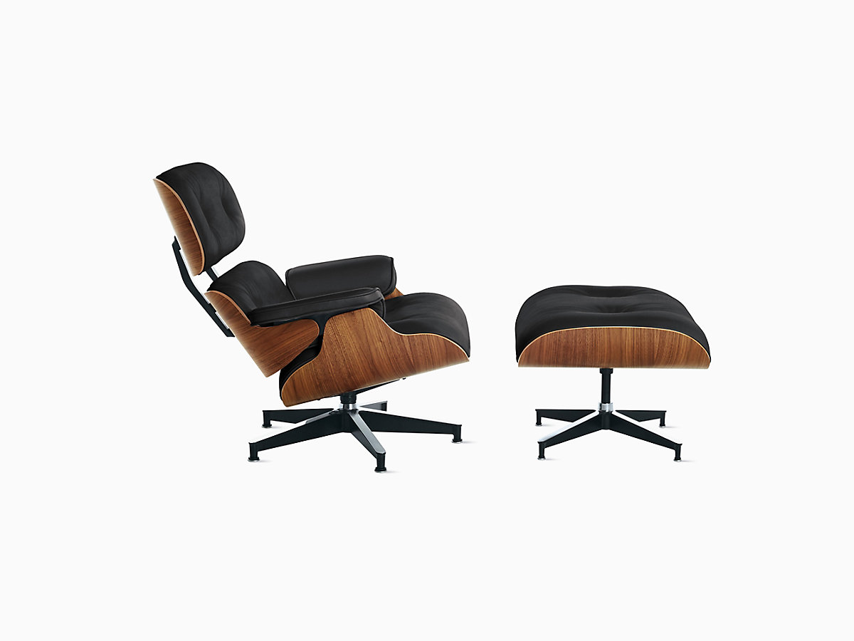 Awe Inspiring Eames Lounge Chair And Ottoman Creativecarmelina Interior Chair Design Creativecarmelinacom