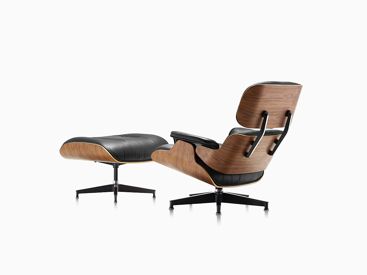 Eames Stoel Lounge.Eames Lounge Chair And Ottoman Herman Miller