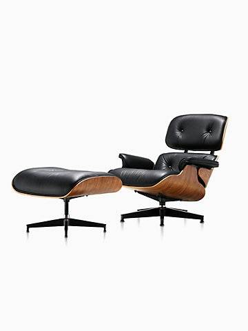 Remarkable Modern Lounge Chairs And Ottomans Herman Miller Creativecarmelina Interior Chair Design Creativecarmelinacom
