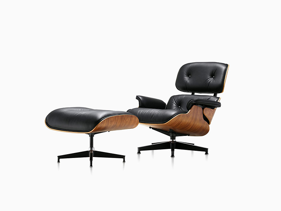Eames Poltrona Prezzo.Eames Lounge Chair And Ottoman Herman Miller