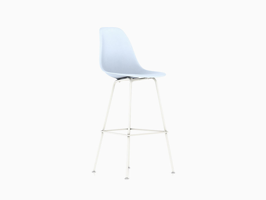 Eames Molded Plastic Stool Bar Height